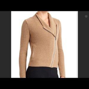 Athleta Merino Wool Moto Sweater